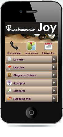 restaurant joymobiele website