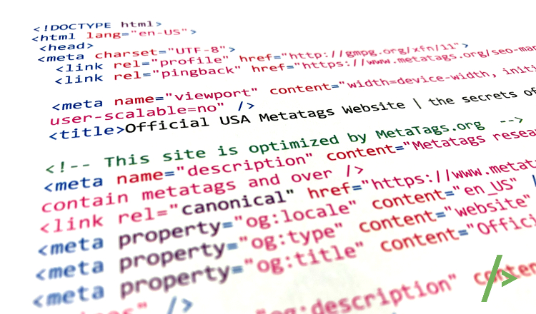Overview of all metatags - html metatags source code